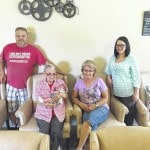 Five generations: Downing family