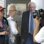 ODD: Crochet Bernie Sanders makes appearance at Wash. convention
