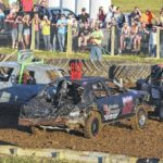 Demolition derby a smashing hit at Putnam County Fair