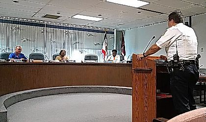 Lima Police Chief Kevin Martin told Lima's Safety Services Committee on Monday he opposes having any dispensaries for medical marijuana in the city of Lima.