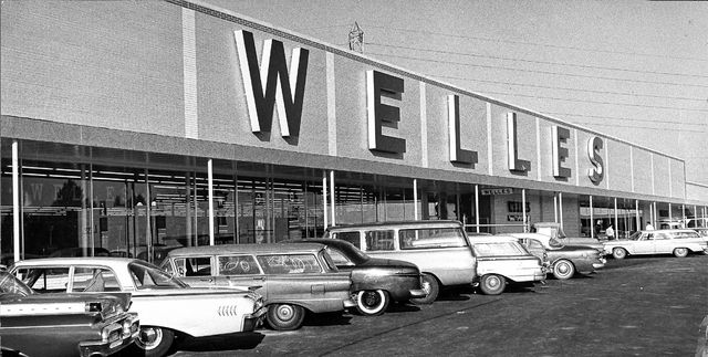 Welles Family Department Store opened in Northland in 1961, the year this photo was made.