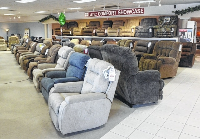 There is a wide variety of recliners at Westrich Furniture in Delphos.