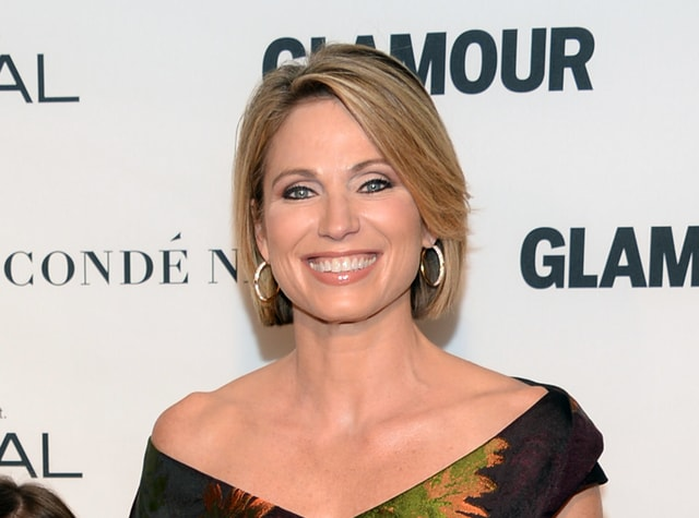 """Amy Robach apologized for using the term """"colored people"""" for African-Americans on Monday's broadcast of the ABC program. After the broadcast, Robach released a statement explaining she had meant to say """"people of color."""" She called the incident """"a mistake"""" and """"not at all a reflection of how I feel or speak in my everyday life."""""""