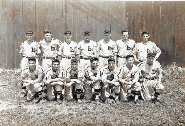 The Pandas posed for a photo in 1939, the club's opening season. The team was formed in Lima and played teams from Fostoria, Findlay, Fremont, Tiffin and Mansfield.
