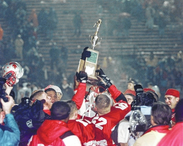 Back in 1996, Lima Senior hoisted the state championship trophy after defeating Cleveland St. Ignatius. The team will be honored prior to Lima Senior's season opener Friday night against Middletown at Spartan Stadium.