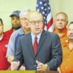Strickland talks auto rescue, Senate race during stop at Lima UAW