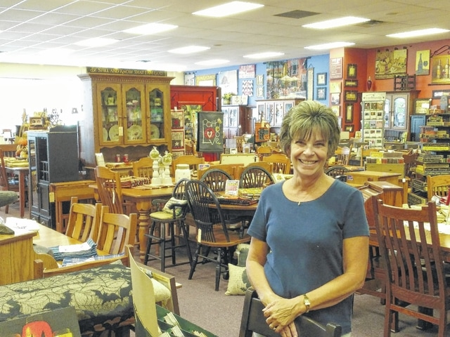 Dawn Stanfield, of the Amish Merchant, is looking forward to the completion of roadwork on Elida Road.