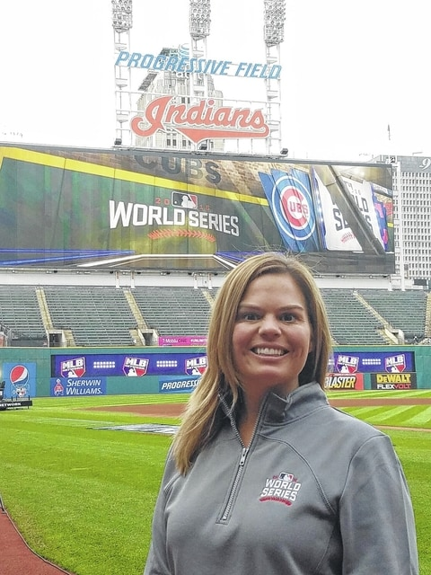 Kelly Dredge, an Elida graduate, is working with the Cleveland Indians during their World Series run this year.