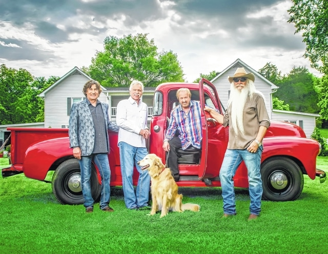 The Oak Ridge Boys will be in concert Tuesday in Lima.