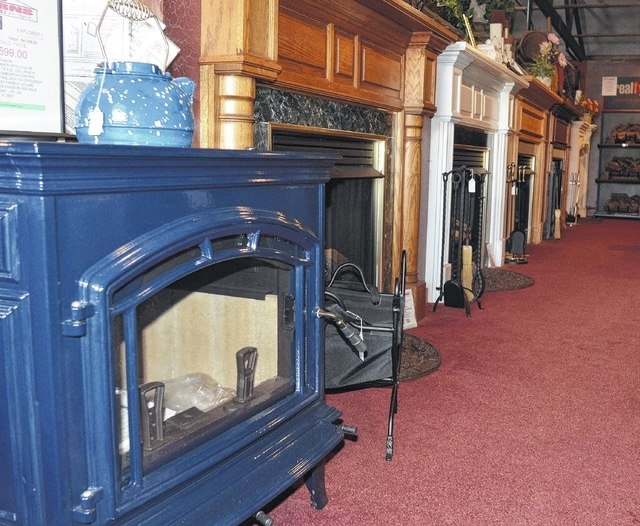 historic blizzard inspires successful heating business the lima news rh limaohio com Fireplace Surrounds Cabin Fireplace Winter
