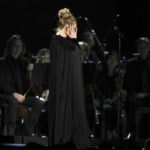 Adele has hiccup, again, during live performance at Grammys
