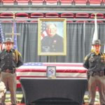 Community pays respects at service for Interim Sheriff Everett