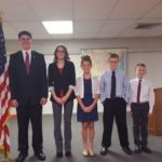 New Knoxville students place in God, Flag and Country speech contest