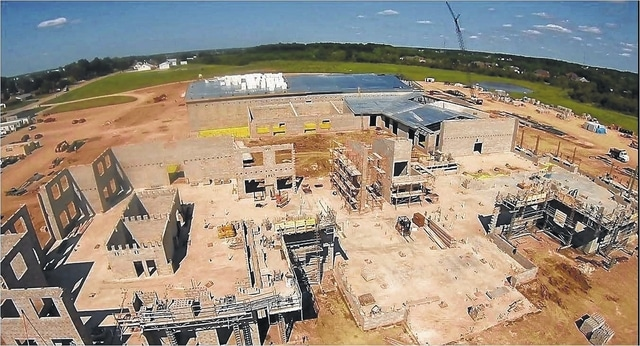 Construction companies such as Tuttle Construction, Inc., of Lima, see an uptick in the number of projects, meaning more opportunities for workers.