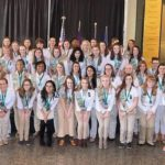 Eight local Girl Scouts earn highest honor