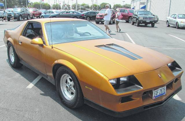 This 1982 Z28 is the fourth Camaro that Ron Hall, of Celina, has owned. Lance Mihm | The Lima News
