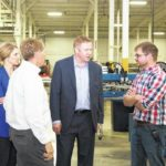 Coldwater company gets thumbs up from congressman