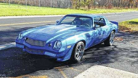 Marcus Lori of Lima plans to have his 1978 Z28 Camaro completely redone and ready for its first car show by June. Submitted photo.