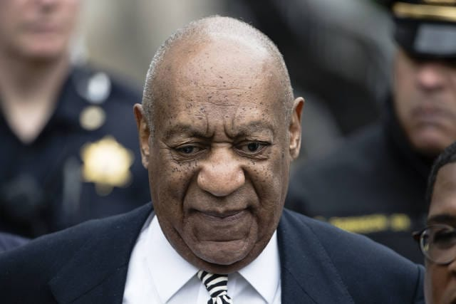 On April 3, Bill Cosby departs after a pretrial hearing in his sexual assault case at the Montgomery County Courthouse in Norristown, Pa. Cosby says he doesn't expect to testify at his Pennsylvania sexual assault trial. spoke to Sirius radio host Michael Smerconish in an interview broadcast Tuesday.
