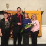 Lora recognized as Shawnee Optimist educator of the year