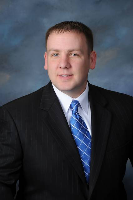 Submitted photo | Easterling Studios Scott Neth has been named vice president of retail banking at Minster Bank.