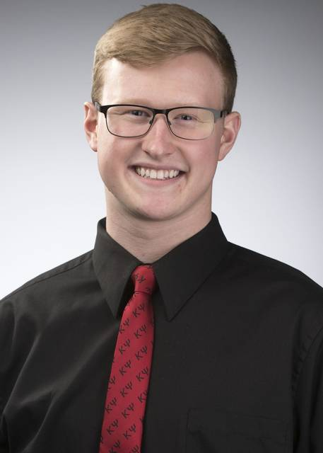 Trevor Jones | Ohio Northern University Ohio Northern University sophomore Zachary Bragg has been selected as a Newman Civic Fellow.