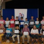 Crestview Middle School recognizes students with perfect attendance