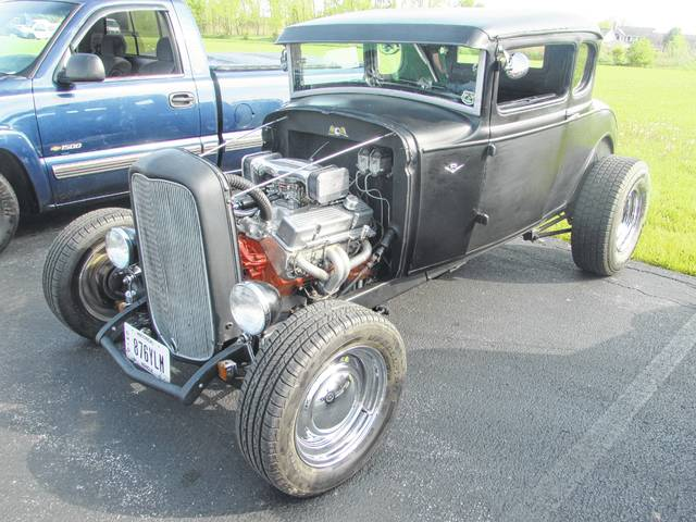 Jim Hirn, of Spencerville, bought his 1931 Ford Model A Coup 28 year ago.
