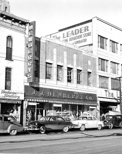 The J.J. Newberry Co. was a five-and-dime that expanded its offerings into higher-priced goods in 1960, a move that could not save the business from going out of business.