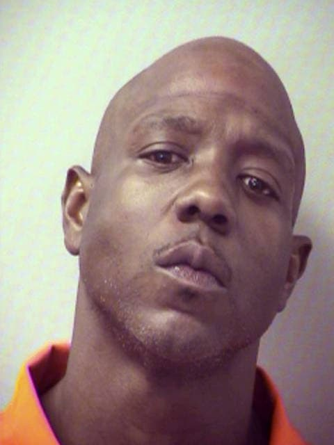 This undated photo provided by the Okaloosa County Sheriff's Office shows David Blackmon, who on Sunday, July 16, 2017, called 911 to report a robbery in Fort Walton Beach, Fla., Blackmon told the responding deputy that someone entered his car and took $50 and about a quarter ounce of cocaine from the center console. Blackmon is charged with possession of cocaine and resisting arrest without violence. He was released from jail on Tuesday. (Okaloosa County Sheriff's Office via AP)