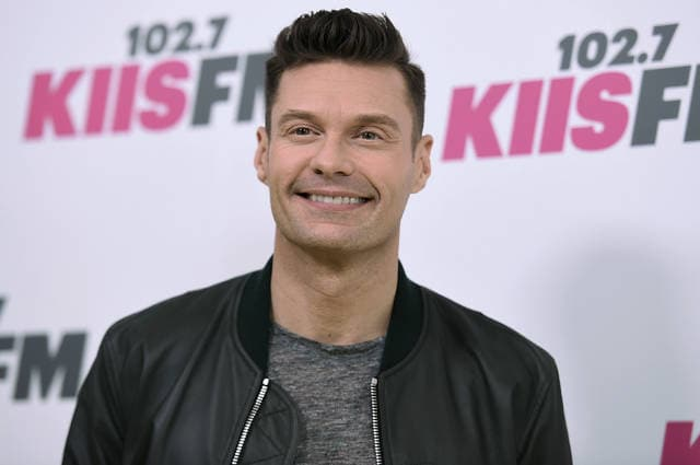 "Ryan Seacrest arrives at Wango Tango at StubHub Center, in Carson, Calif., on May 13. Seacrest will be back hosting ""American Idol"" when it returns for a first season on ABC. Kelly Ripa made the announcement Thursday on ""Live with Kelly and Ryan,"" which she has co-hosted with Seacrest since he joined her in May."