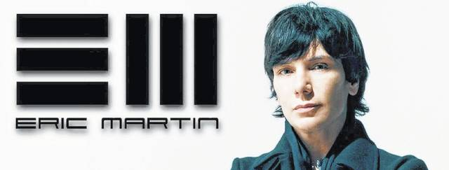 Eric Martin, of Mr. Big, will be performing Sunday during the Loud N Lima concert at the fairgrounds.