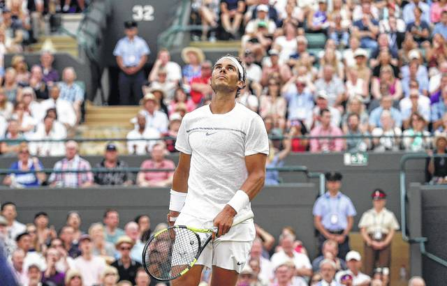 Nadal Loses 15 13 In 5th Set At Wimbledon The Lima News