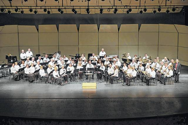 "Lima Area Concert Band is performing ""Welcome to the Cabaret"" Saturday at Veterans Memorial Civic Center."