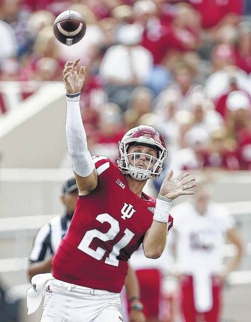 Indiana quarterback Richard Lagow was second in the Big Ten with 3,362 passing yards in 2016.