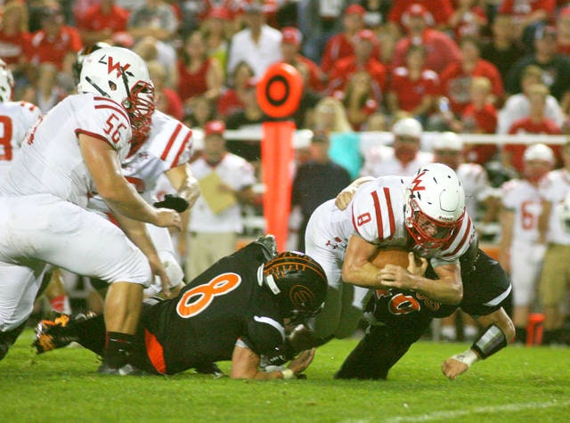 Wapakoneta's Rob Gerstner returns for the Redskins and should be a major contributor on both on offense and defense.