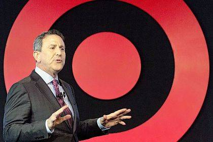"FILE - In this Wednesday, March 2, 2016, file photo, Target Chairman and CEO Brian Cornell speaks to a group of investors at the company's annual meeting in New York. Target Corp. is raising its minimum hourly wage for its workers to $11 starting in October 2017 and then to $15 by the end of 2020 in a move it says will help it better recruit and retain staff and provide a better shopping experience for its customers. ""We see this not only as an investment in our team but an investment in an elevated experience for our guests and the communities we serve,"" Cornell told reporters on a call Friday, Sept. 22, 2017. (AP Photo/Mark Lennihan, File)"