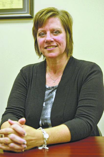 Amy Sealts will begin her new job as Putnam County Community Improvement Corp. director Tuesday. She will work closely with currect director Curt Croy, being mentored by him, until he officially resigns from the position at the end of the year.