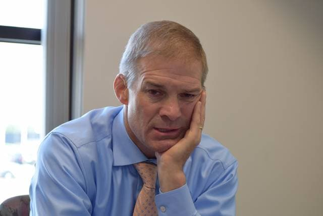 U.S. Rep. Jim Jordan stopped by The Lima News to discuss recent topics.