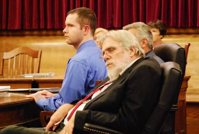 Christopher Peters showed no emotion as a Van Wert jury found him guilty of aggravated murder Friday evening.