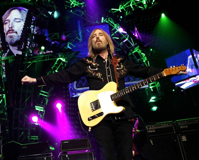 Tom Petty performs with The Heartbreakers in 2008 at Madison Square Garden in New York. Petty died at age 66. Spokeswoman Carla Sacks says Petty died Monday night at UCLA Medical Center in Los Angeles after he suffered cardiac arrest.