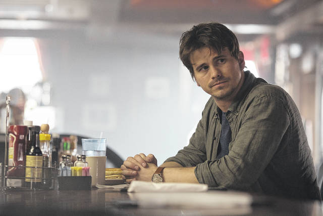 """This image released by ABC shows Jason Ritter in a scene from """"Kevin (Probably) Saves the World,"""" airing Tuesdays on ABC."""