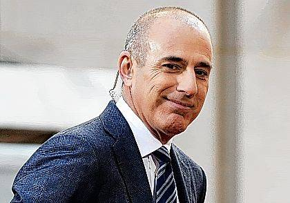 """Matt Lauer, co-host of the NBC """"Today"""" television program, appears on set April 21, 2016, in Rockefeller Plaza in New York. NBC News announced Wednesday that Lauer was fired for """"inappropriate sexual behavior."""""""