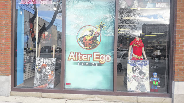 Alter Ego Comics is one of the the businesses in downtown Lima that will participate in Small Business Saturday today.