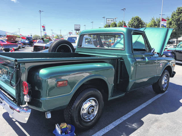 The 1968 Chevy Stepside Pickup shipped from Yuma, Arizona.