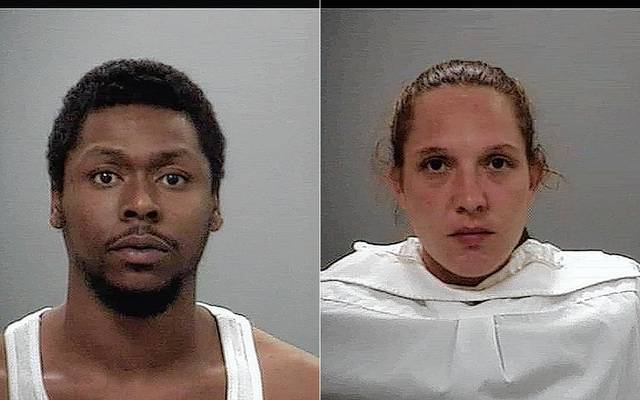 Darnell Welch, left, and Jennafer Andrian.