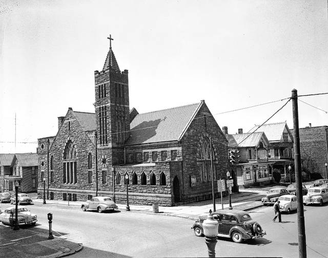 This photo from 1964 shows St. Luke's Lutheran Church.