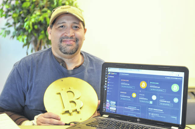 Spencerville native Gregory Robinson is owner of Great Value Marketing, a bitcoin marketing research company.