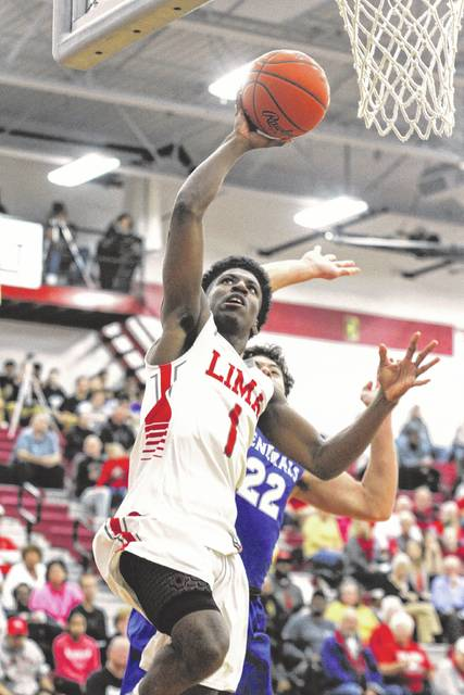 Spartan B.J. Miller will be a key component of the Lima Senior team this year. Miller, who was going to start at point guard this year, has been moved to shooting guard in hopes of getting him more scoring opportunities.
