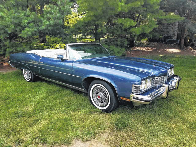 Joe and Jan Edman, of Bluffton, have been enjoying this classic 1973 Pontiac Grand Ville.